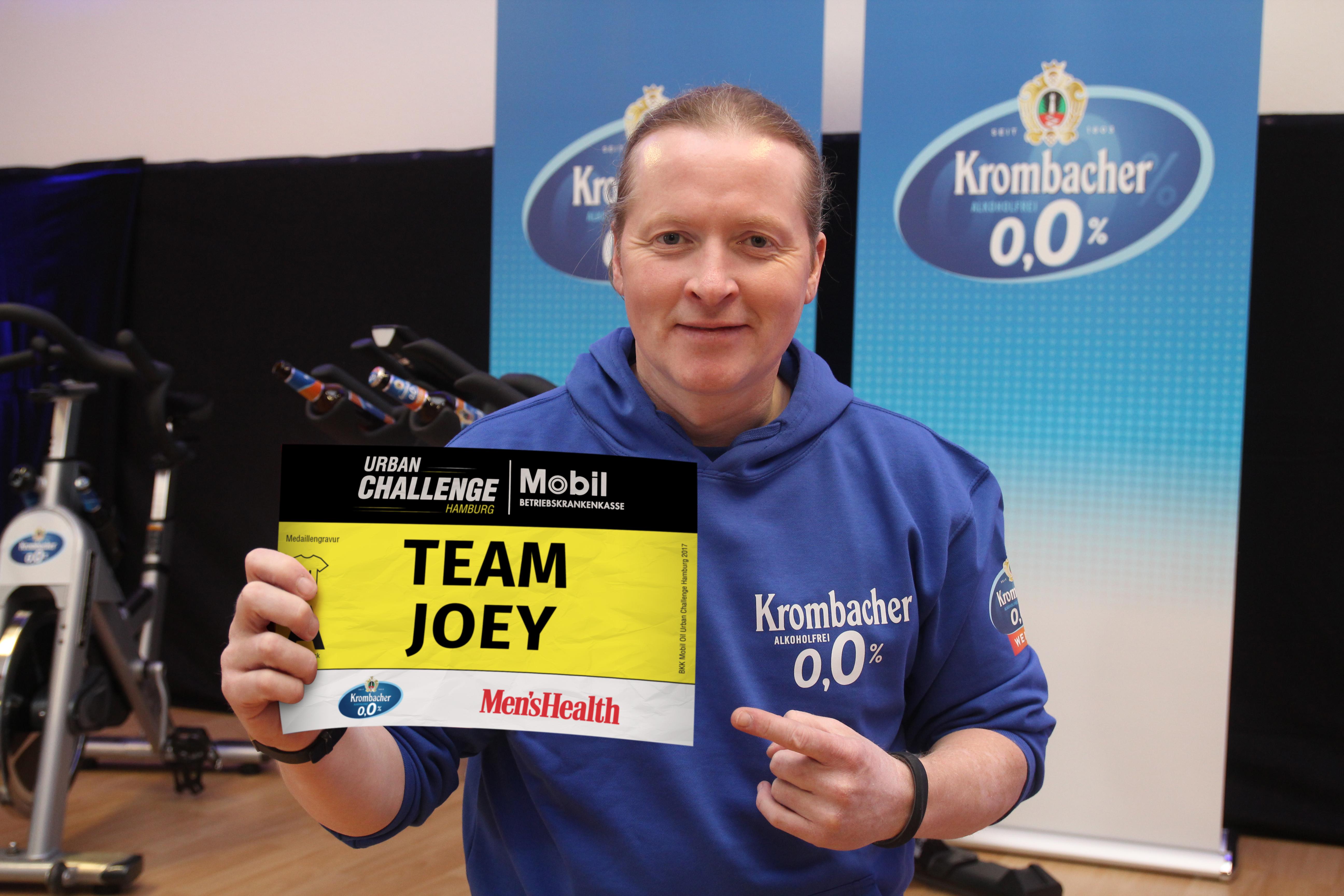 Joey Kelly bei der Urban Challenge