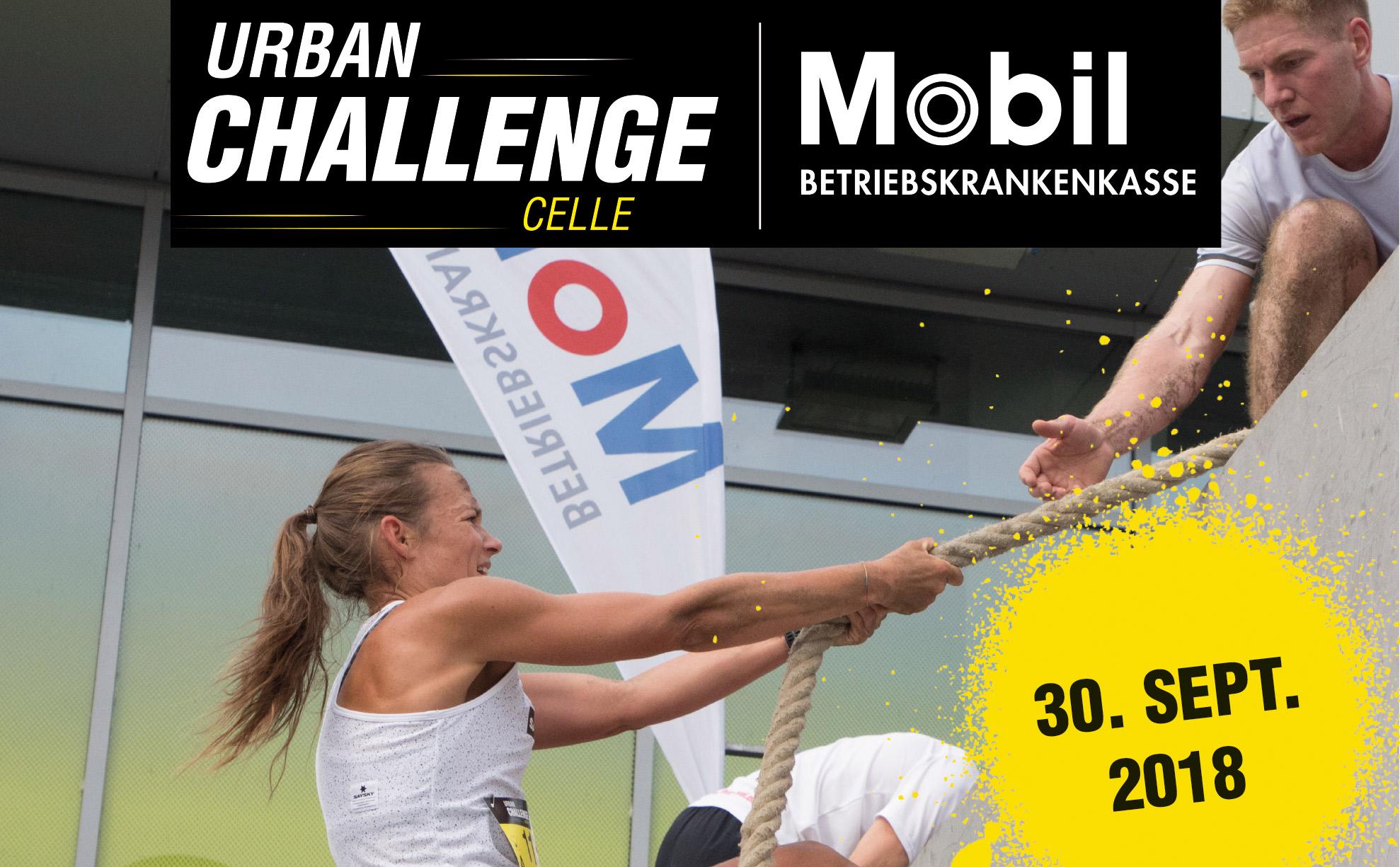 Urban Challenge Celle - das urbane Hindernisrennen